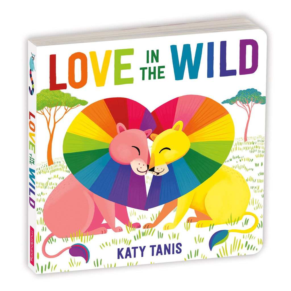 Love In The Wild Kid's Board Book