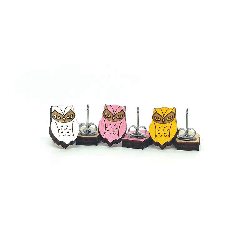 Unpossible Cuts, Owl Earrings