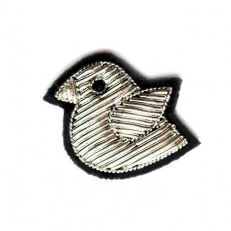Embroidered Pin: Little Bird