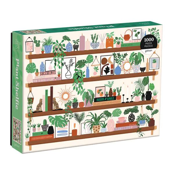 Plant Shelfie Puzzle, 1000 Pieces