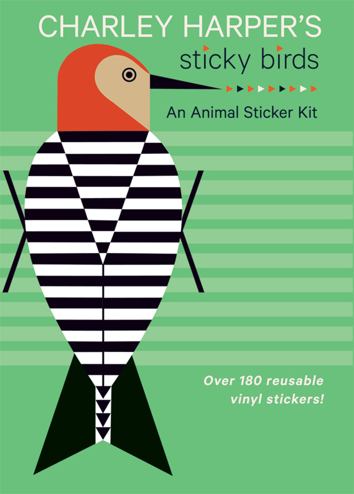 Charley Harper's Sticky Birds, An Animal Sticker Kit