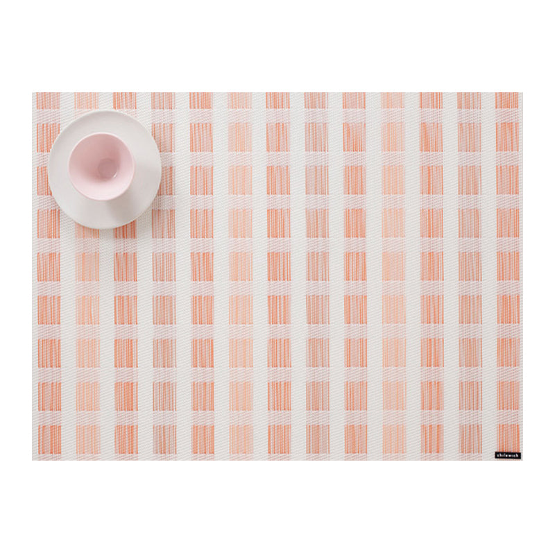 Placemat - Stitch in Coral