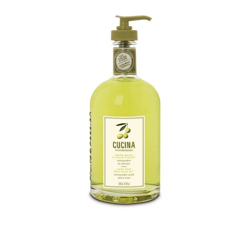 Hand Soap with Olive Oil, Coriander & Olive Tree