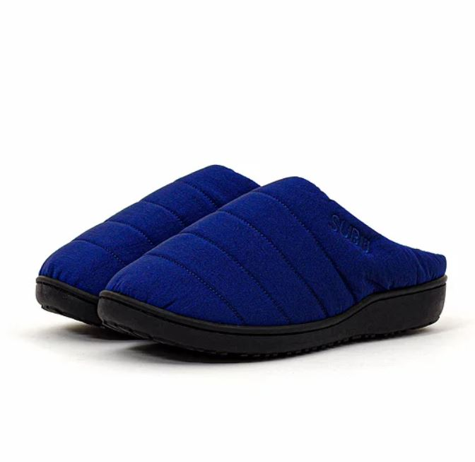 Subu, Indoor Outdoor Slippers in Undulate Blue
