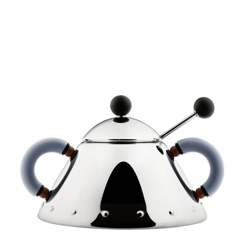 Alessi Sugar Bowl with Spoon - 9097