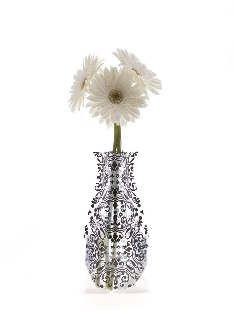 Modgy Expandable Flower Vase, Chichi Black
