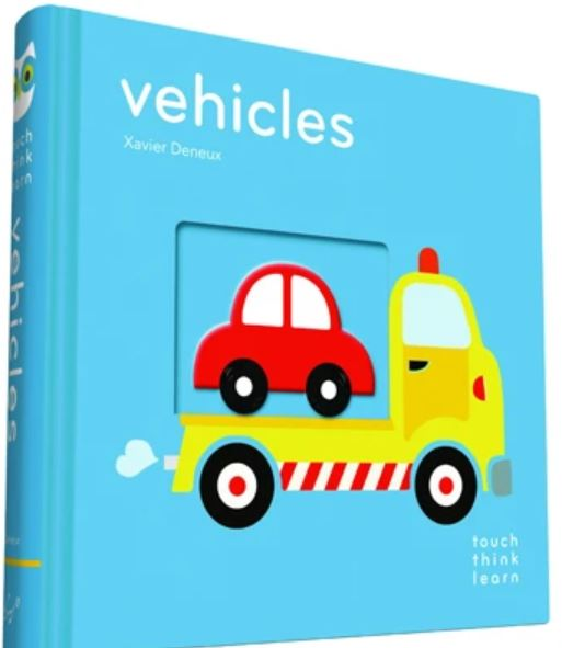 Chronicle Books, TouchThinkLearn: Vehicles