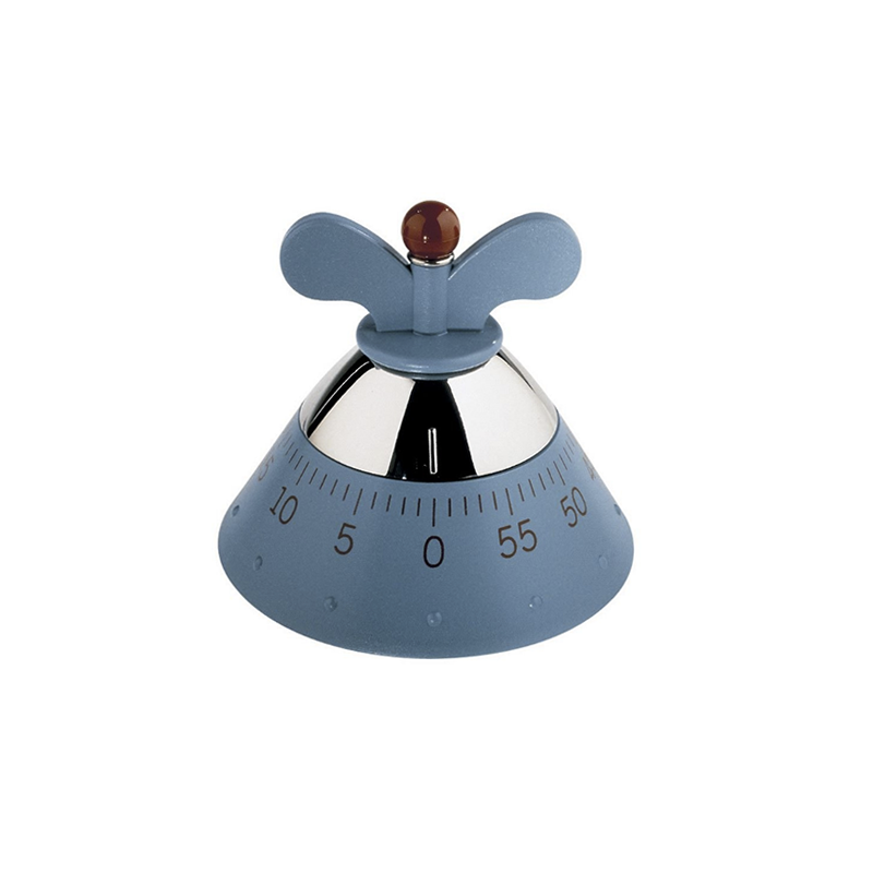 Alessi, Michael Graves Kitchen Timer in Blue
