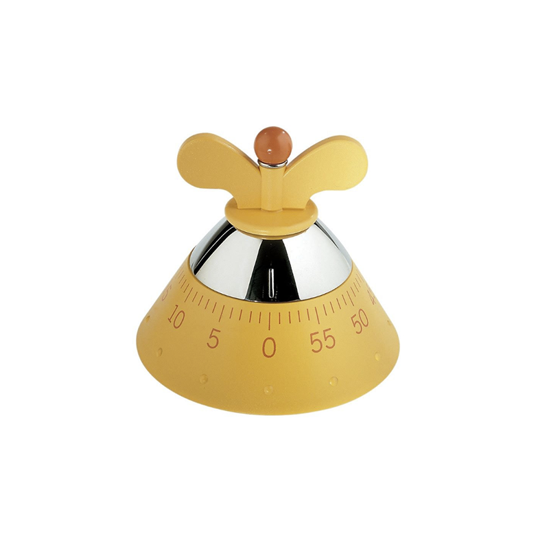 Alessi, Michael Graves Kitchen Timer in Yellow