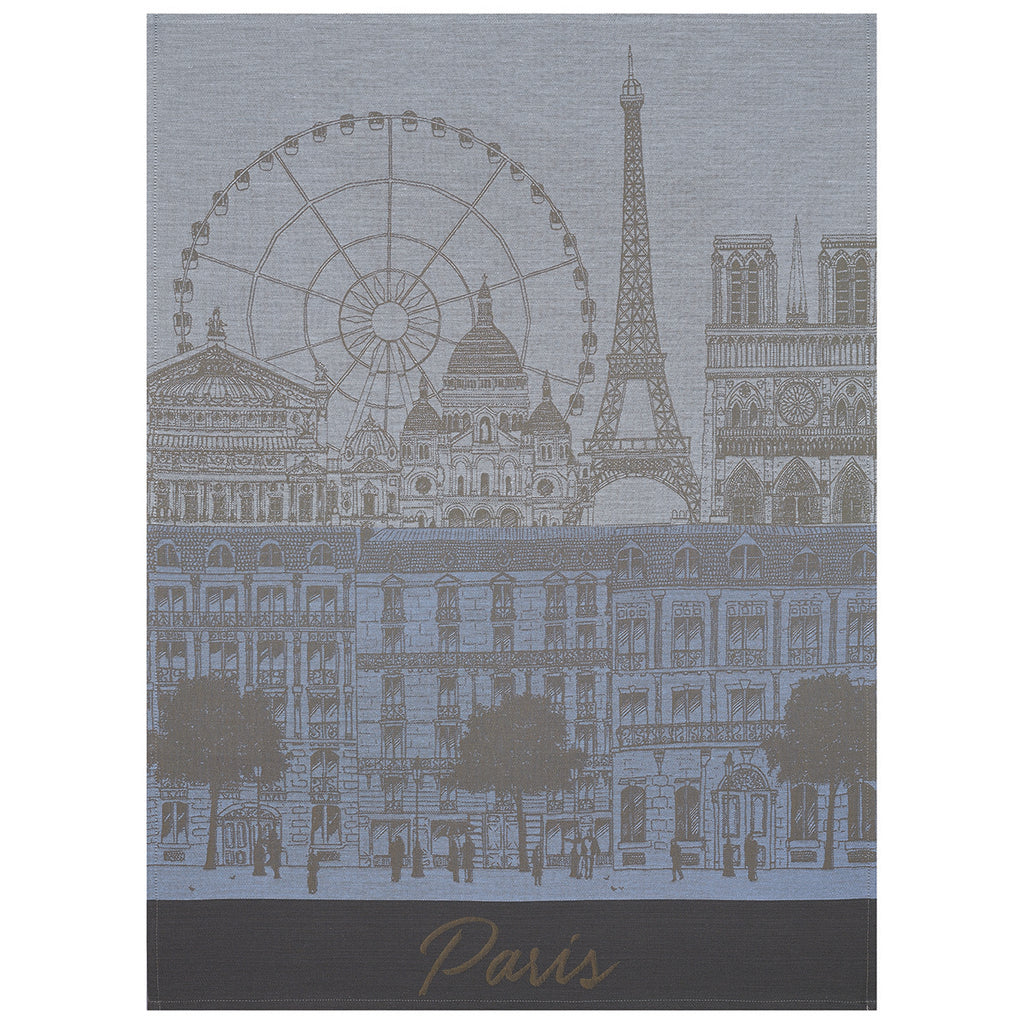Le Jacquard Français, Paris Panorama Tea Towel