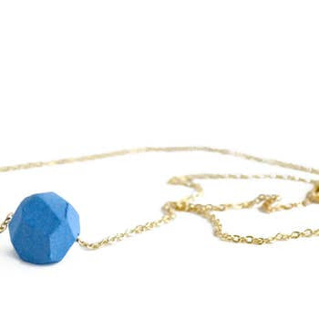 Jenna Vanden Brink, Petite Faceted Porcelain Necklace