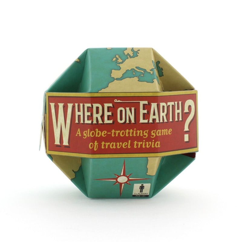 Where on Earth Trivia Game