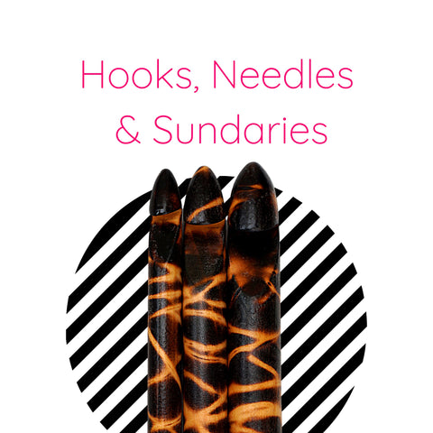 Hooks, Needles, Scrap Packs & Project Bags