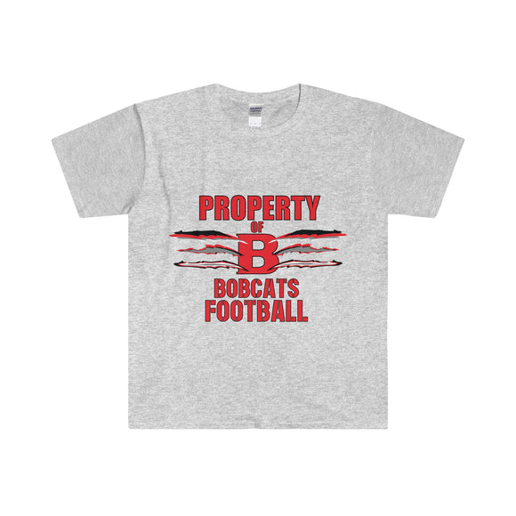 'Property of' Custom Tee - Bournemouth Bobcats