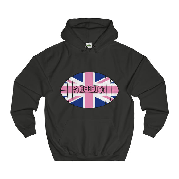 Pink Britball - Breast Cancer Awareness Hoodie