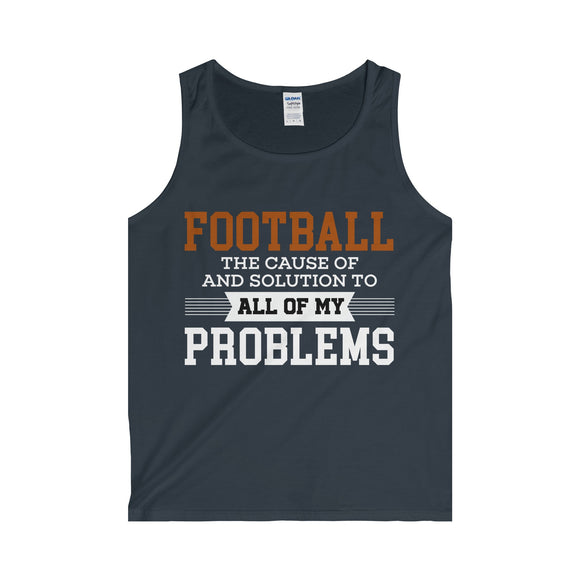 Football Problems - Adult Tank Top