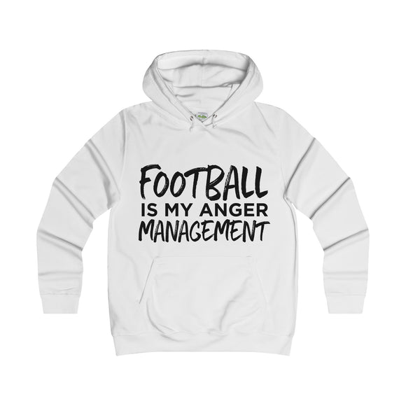 Anger Management - Womens Hoodie