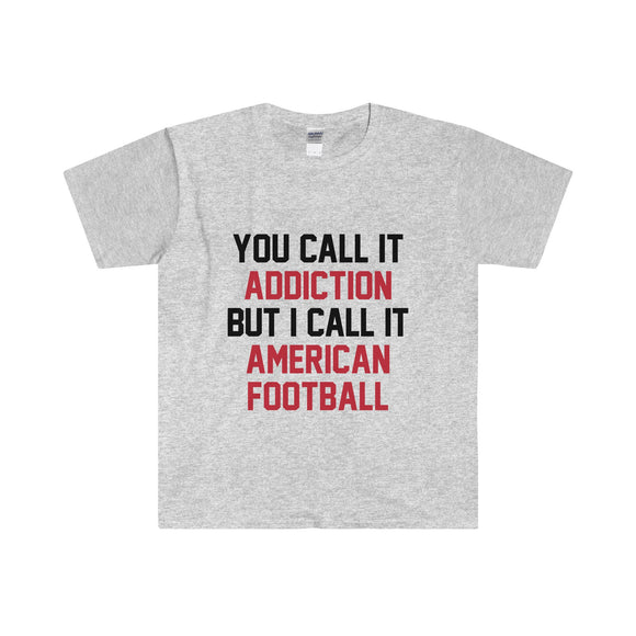 Football Addiction - Men's T-Shirt
