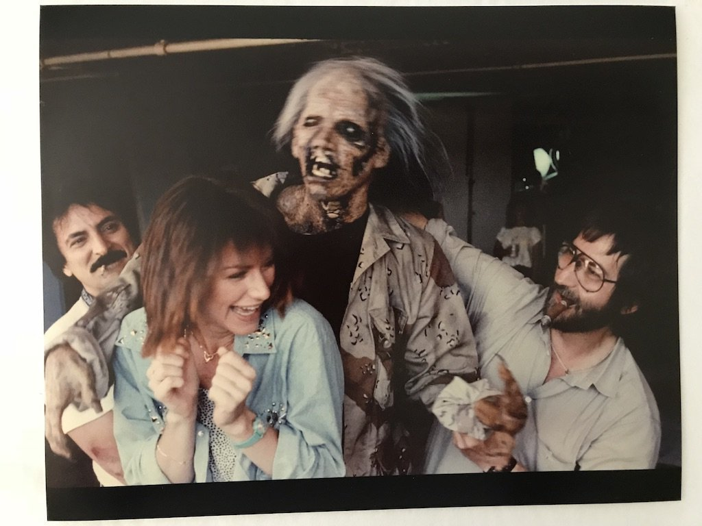 Texas Chainsaw Massacre 2 bts Nubbins 8x10 print