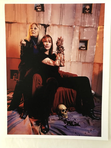 Caroline Williams & Marilyn Burns 8x10 print