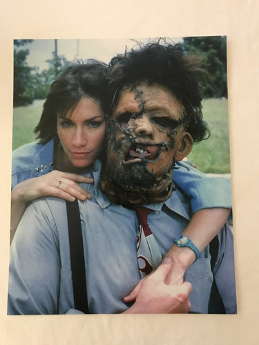Texas Chainsaw Massacre 2 bts 8x10 print
