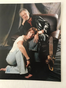 Caroline Williams & Tobe Hooper 8x10 print