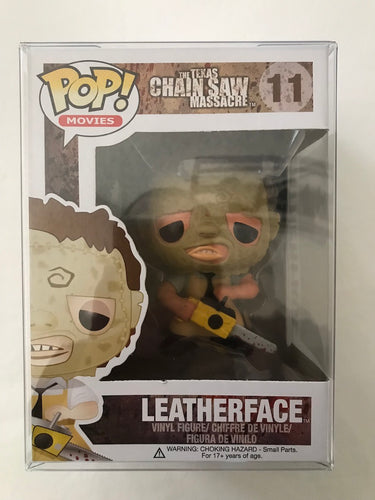 Leatherface Funko Pop w/protector