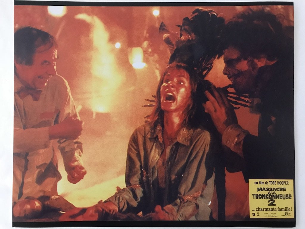 Texas Chainsaw Massacre 2 Dinner 8x10 print