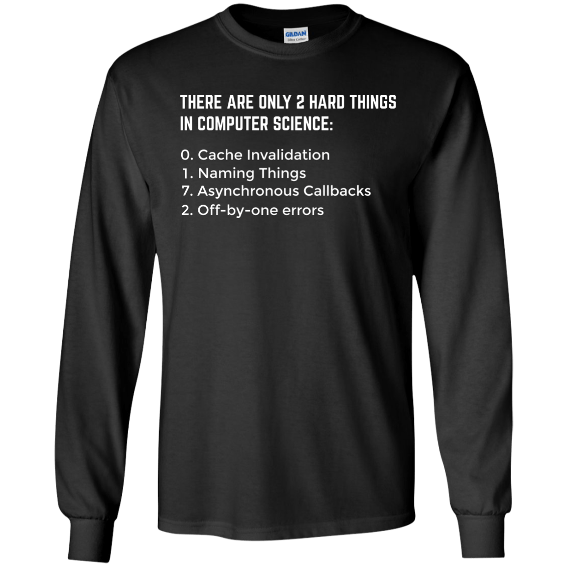 There Are Only 2 Hard Things In Computer Science Codetee