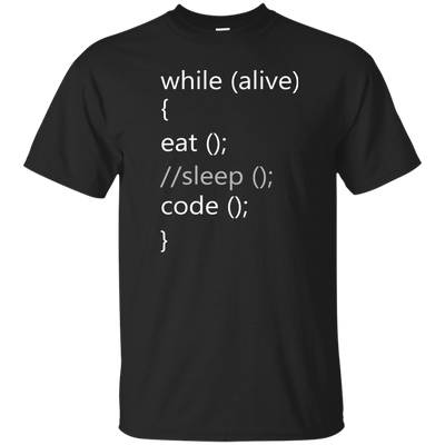 While Alive, Eat //Sleep Code