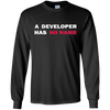 A Developer Has No Name