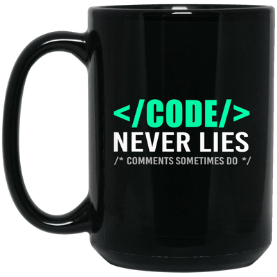 Code Never Lies. Comments Sometimes Do.