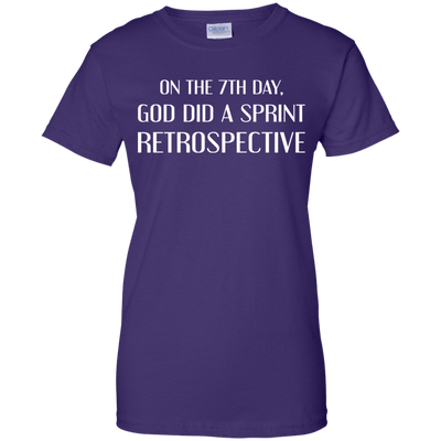 On the 7th Day, God Did a Sprint Retrospective