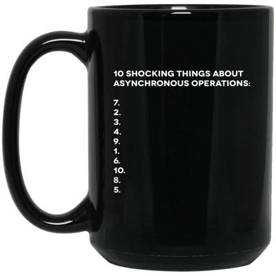 10 Shocking Things About Asynchronous Operations