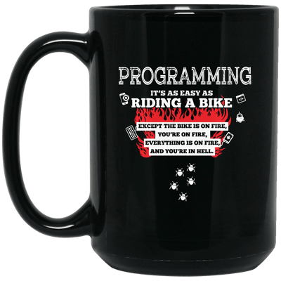 Programming is as Easy as Riding a Bike, Except...