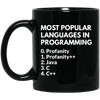 Most Popular Languages in Programming: Profanity