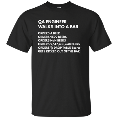 QA Engineer Walks into a Bar...