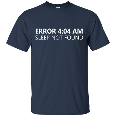 Error 4:04 AM - Sleep Not Found