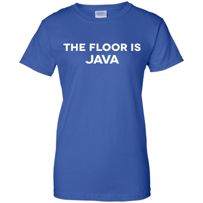 The Floor is Java