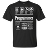 Programmer Shirt Label