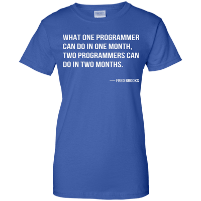 What One Programmer Can Do in One Month...