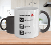 In Case of Fire: git -tf out (Color Changing Mug)