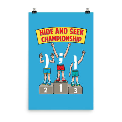 Hide and Seek Championship Poster