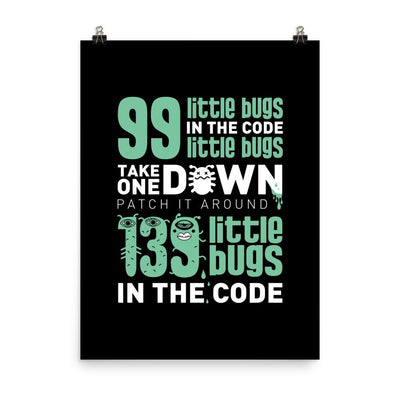 99 Little Bugs in the Code... Poster