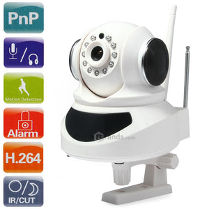 1.0MP ONVIF H.264 IP Camera Kit for Home Security
