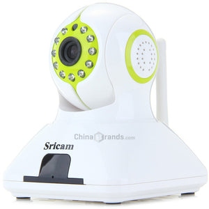 Sricam  Pan-Tilt Wireless IP Camera with Alarm Function