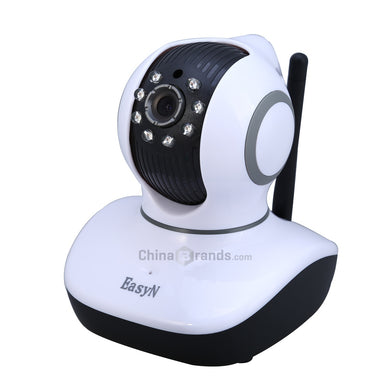 EasyN  Wireless IP Camera with Pan / Tilt Night Vision US Plug