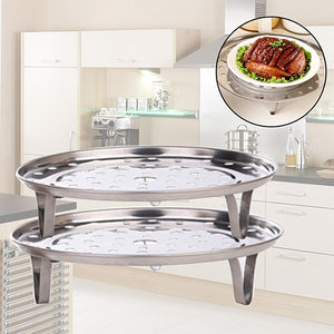 Stainless Steel Steamer Tray Stand Cookware Tool