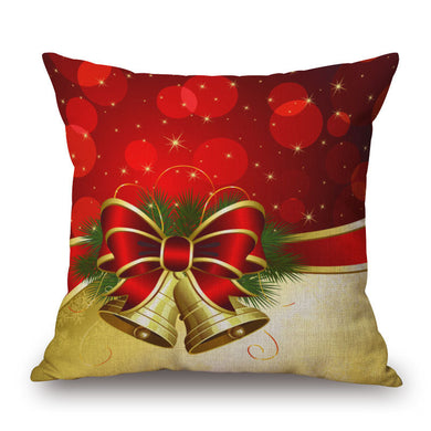 Christmas Linen Cushion Cover  45cm x 45cm