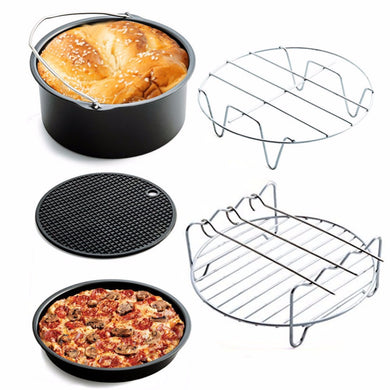 New 5 pcs/set Cookware Sets Home Air Frying Pan